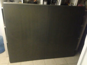 Magnetic Dry Marker White Board with Two Cork Boards