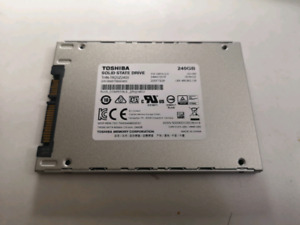 toshiba solid drive 240G TR200