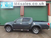 Mitsubishi L200 4x4 BARBARIAN LB NO VAT Leather Sat Nav Cambelt Done @ 76k