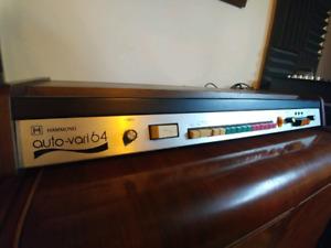 HAMMOND Auto Vari 64 Rhythm Vintage Analog Drum Machine