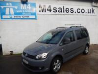 VW Caddy Maxi C20 LIFE TDI BLUEMOTION CREWVAN WITH A/C 102PS 7 SEATER