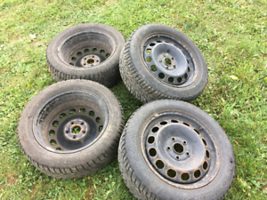 205 65R16 Winter Tires (top quality) - 4 on Steel Rims