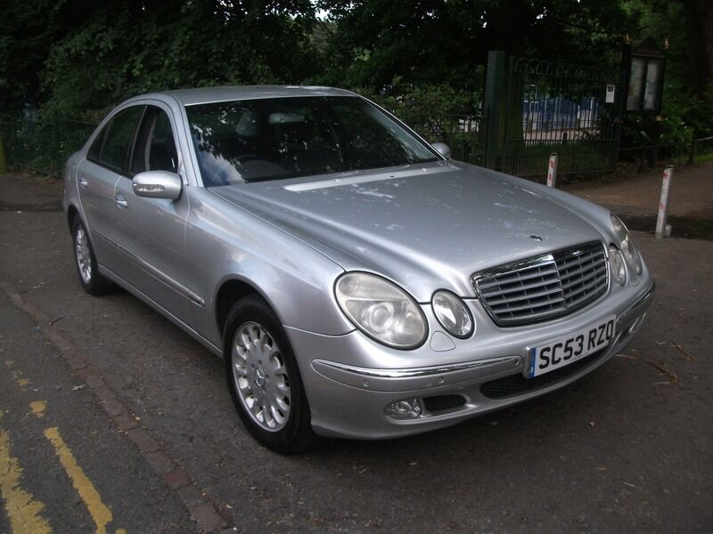 mercedes e class e220 cdi elegance silver 2003 in leicester leicestershire gumtree. Black Bedroom Furniture Sets. Home Design Ideas