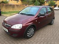 2004 Vauxhall/Opel Corsa 1.2i 16v Life - 10 SERVICE STAMPS - MOT 16/10/2017