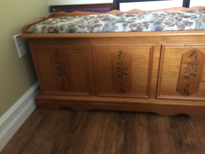 hope chest from wheatons for sale in vg cond