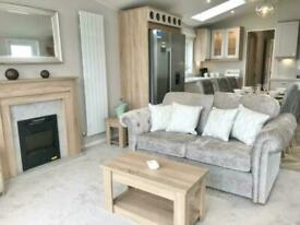 Brand new luxury extra wide spacious static caravan for sale Norfolk coast