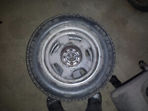 """4#  15"""" 4 bolt Crome rims  for f-body Mustang"""