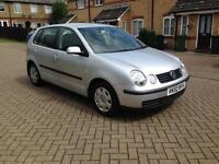 2002 Volkswagen Polo 1.4 SE 5dr