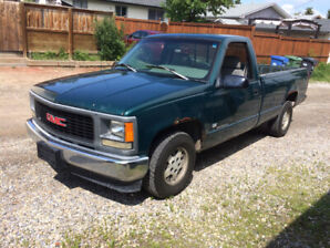 1995 GMC HALF TON TRUCK 8 foot box