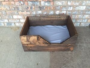 Small Dog Bed - Artisan Made Reclaimed Wood