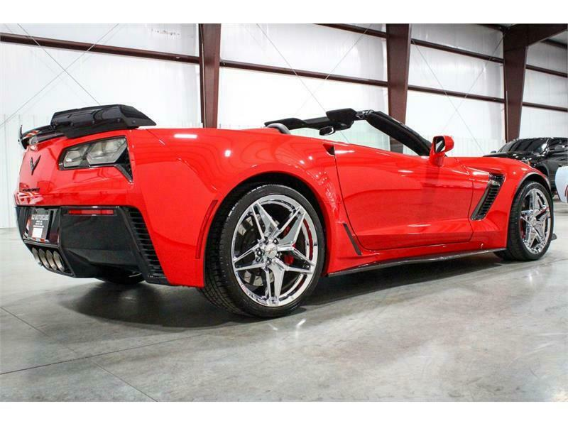 2016 Red Chevrolet Corvette Z06 2LZ | C7 Corvette Photo 5