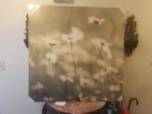 Large flower Canvas Picture