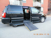 2014 Chrysler Town & Country Touring, WHEELCHAIR ADAPTED