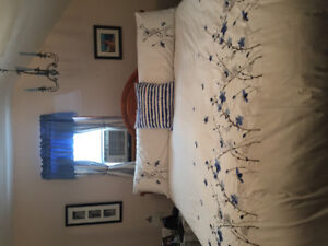 King size duvet cover and shams