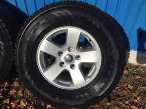 ram 1500 pneus d hiver sur mag