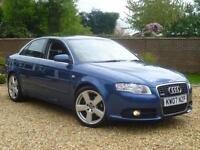 2007 07, Audi A4 2.0 TDI ( 170PS ) S Line manual saloon ++ SAT NAV + 6 SPEED