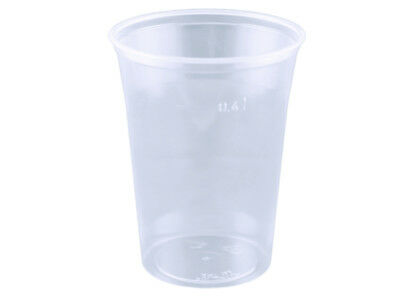 1200 Bierbecher 400ml 16 oz Plastikbecher Ausschankbecher PS (142065)