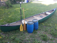 17' Old Town Tripper, Royalex white water/expedition canoe