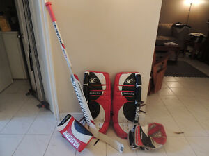 Vaughn Goalie Equipment & Stick,could trade for a PS4 or XB1