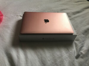 ROSE GOLD MACBOOK 12 INCH WITH RETINA DISPLAY