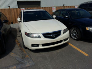 Acura TSX with low km