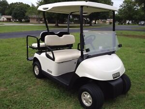Searching for a golf cart