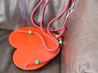 Heart shape swing.
