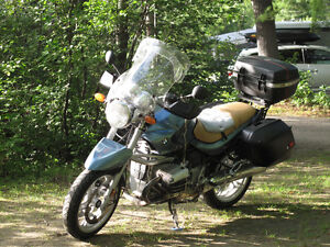 BMW R1150R set up for touring