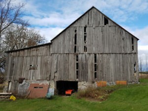 Barn for sale - dismantling - salvage - barn wood
