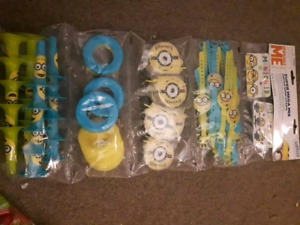 LOT OF DESPICABLE ME PARTY SUPPLIES PICKUP IN HANOVER AREA