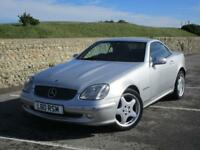 Mercedes SLK200 2.0 Kompressor Supercharged 2 doors manual convertible in silver