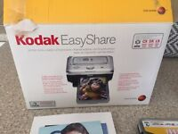 Kodak camera, print doc and accessories