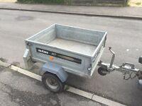 Daxara 4x3 galvanised tipping trailer + jockey wheel