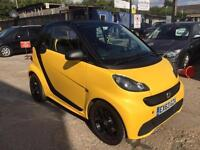 Smart fortwo 1.0 Softouch 2013 Cityflame. 18,000 miles