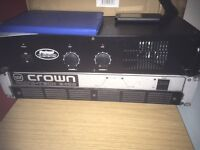 Crown power amp