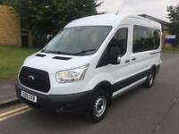 2016 Ford Transit 2.2 TDCi 350 L2H2 Bus 4dr EU6 HDT 11 Seat Manual Minibus