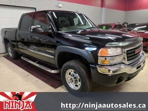 2005 GMC Sierra 1500 SLT 6.0-Crew-Lthr-Includes 5th Wheel Tow Pa