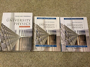 University Physics (12th Edition) w/ Two Solution Manuals