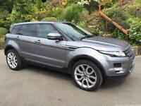 63 REG Land Rover Range Rover Evoque 2.2SD4 auto 2012MY Pure TECH