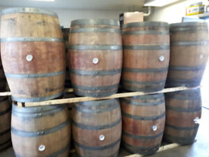 220 X FRESH CALIFORNIA RED WINE OAK BARRELS ONLY $165 each