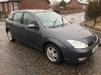 2004 FORD FOCUS 1.6 ZETEC, MOT SEPTEMBER 2017, LIKE ASTRA MEGANE 306 C4