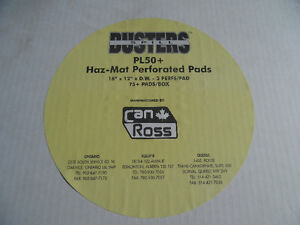 Can-Ross Spill Buster Perforated Pads PL50+ new Box   Product: Kitchener / Waterloo Kitchener Area image 2