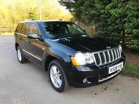 2008 JEEP GRAND CHEROKEE OVERLAND 3.0 CRD V6 AUTOMATIC 4X4 TURBO DIESEL