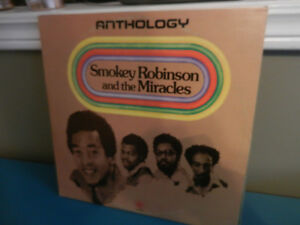 Vinyl Records/LP's Smokey Robinson And The Miracles 3 LP Anthol.