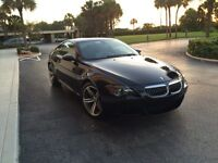 Bmw M6 Black on Beige super clean one owner