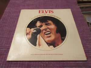 ELVIS PRESLEY A Legendary Performer Volume 1 LP  1974.