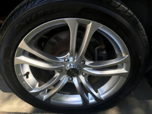 Tires on Rims Great Deal! 225/45/17''  5x114.3