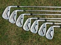 Ping i25 irons [4-PW, Stiff CFS Shafts, Black Dot, RH]