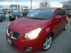 2009 Pontiac Vibe Hatchback  185 kms Loaded $3995