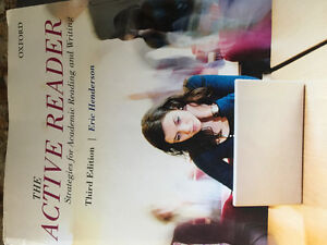 The Active Reader -third edition (Oxford) by Eric Henderson